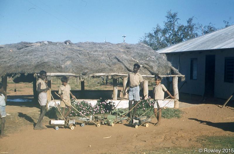 oys using their Initiave making Tin Trucks Fitzroy 1956