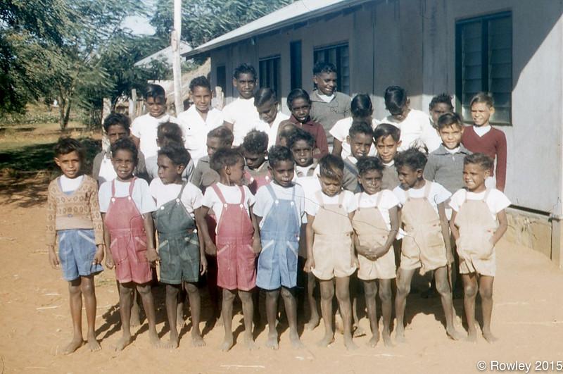 Boys ready for school Fitzroy 1957