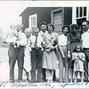 Left to right<br /> Unknown baby, John Pears Smith, Violet Saville Smith, Ira Jackson Jr., Earl Smith, Elaine Clements Smith, Ruth Phelps Smith, Alice Smith Jackson, Ira Jackson Sr., Possibly Jeanene in front.