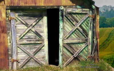 """Hick's Barn & Cat"""