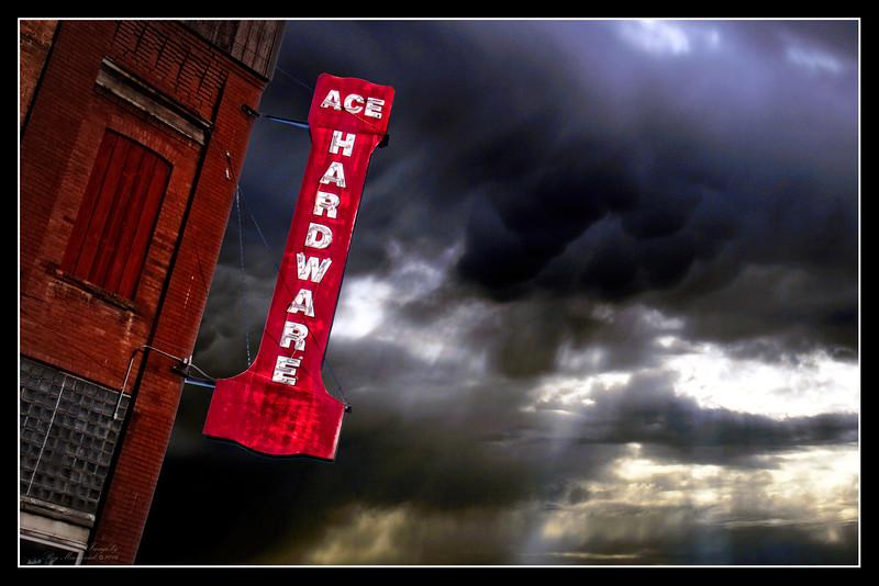 """Black Sky-Red Ace"""