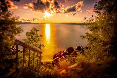 """""""Spaulding Sunset On Shagawa"""""""