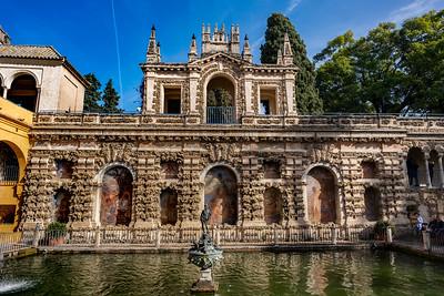 Estanque de Mercurio, Royal Alcázar of Seville