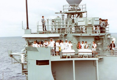 Bob Hawke Sea Day HMAS Adelaide (FFG01)