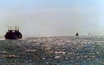 HMAS Supply, Indian Ocean 1978.