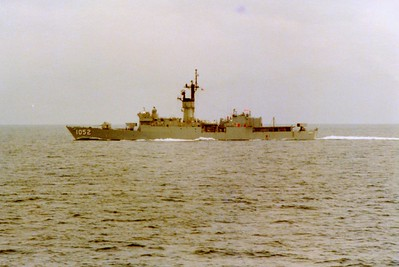 USS Knox. One of the ships we exercised with.