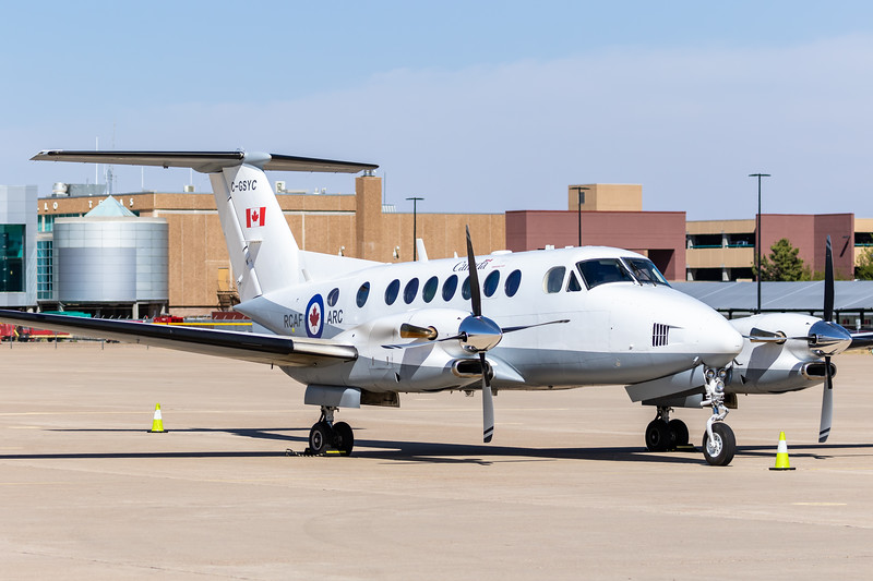 -(Aircraft) Beechcraft B300 Super King Air<br /> -(Nation & Service) Royal Canadian Air Force<br /> -(Squadron) Multi-Engine Utility Flight (MEUF) - 8 Wing<br /> -(Home Base) Canadian Forces Base Trenton, Ontario, Canada