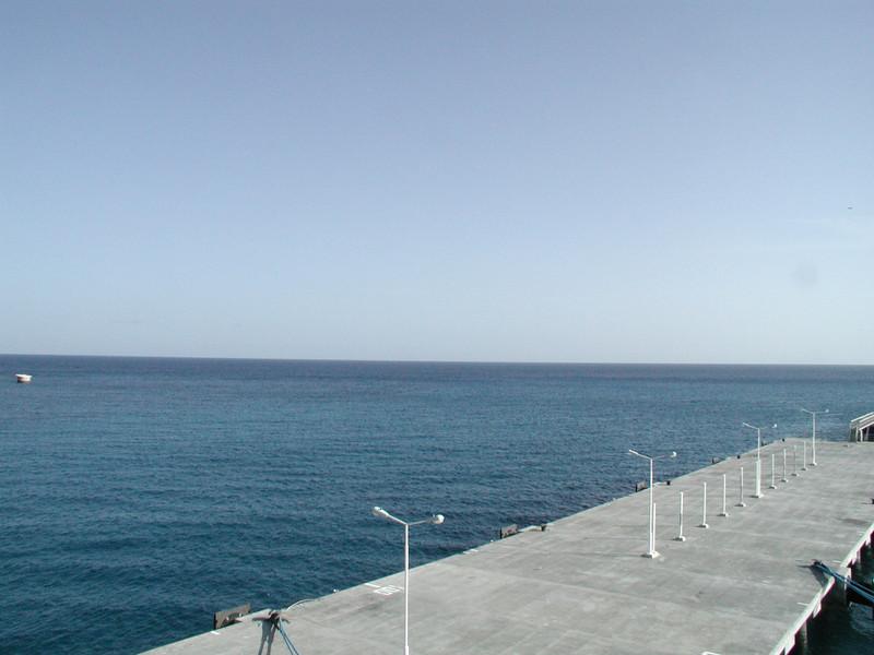 Ocean From Ship In St Maarten.JPG