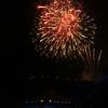 Tattoo Fireworks over Edinburgh