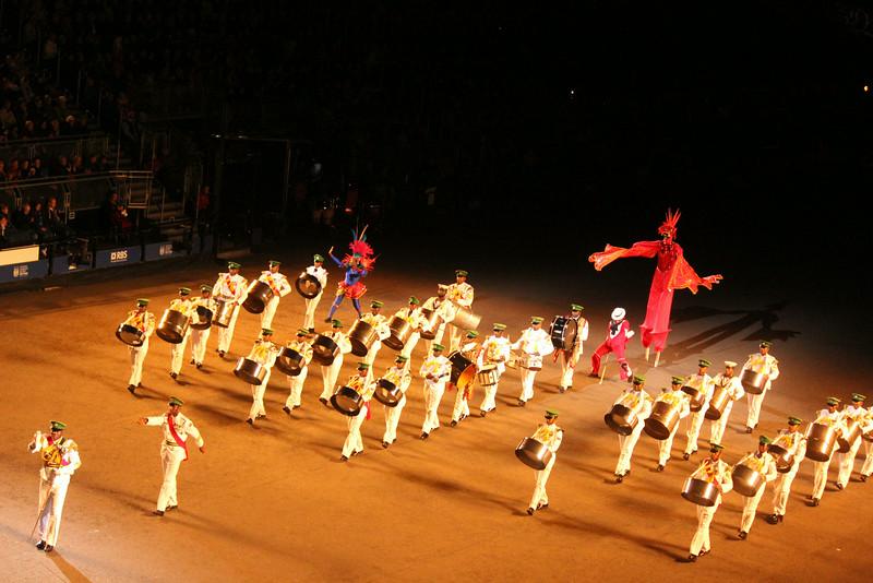 Trinidad & Tobago performers