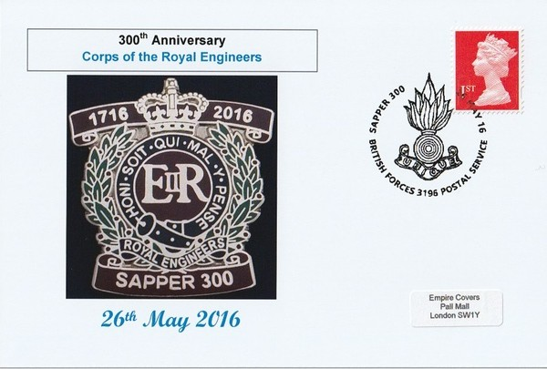 300th Anniversary Corps of Royal Engineers Sapper 300