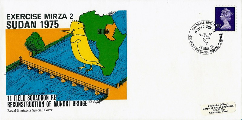 RE Special Cover: 25 Mar 1975