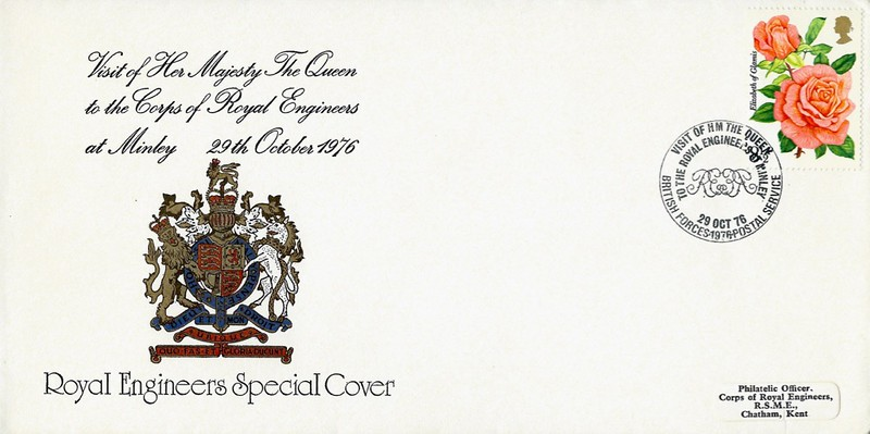 RE Special Cover: 29 Oct 1976