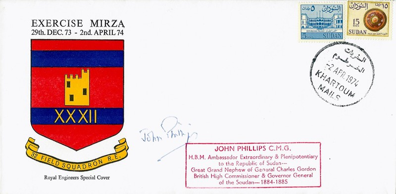 RE Special Cover: 2 Apr 1974