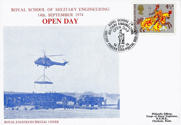 RE Special Cover: 14 Sep 1974
