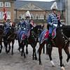 Monachy in Denmark; Royal New year Tradition 2014; Nytårstaffel 2014