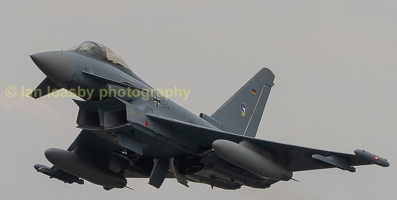 Luftwaffe typhoon EF 2000GS. Serial no;3094