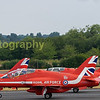 The reds depart back to RAF Scampton