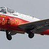 Privately owned Ex RAF T3A jet Provost trainer (G-BVEZ owned by D.Marshal of Newcastle jet provost group)