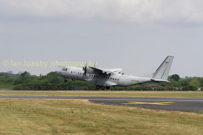 Spannish Air force Airbus C295 serial no; 3550