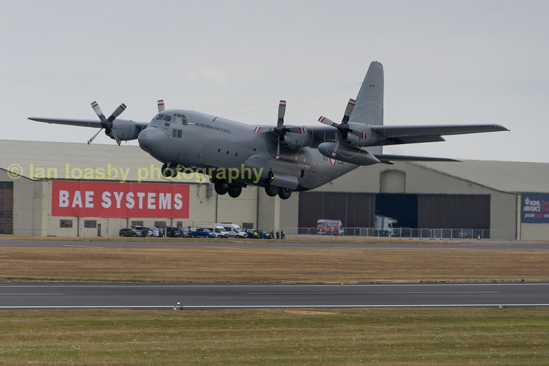 Austrain Airforce C130 serial no 8TCA