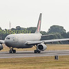 RAF Airbus 330 known in the RAF as a Voyager departs back to Brize Norton