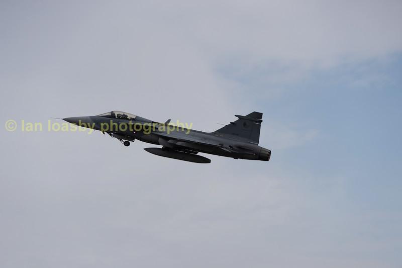 Czech Air force saab Gripen serial no;9239