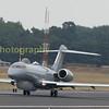 RAF Bombardier 'sentinal' departs back to waddington