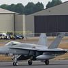 Finish AF MD F18C Hornet serial no; HN435 departs RIAT 2018