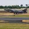Ex RAF Hawker Hunter ZZ190 of Hawker Hunter aviation Scampton
