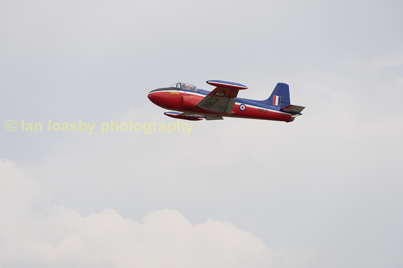 Ex RAF Jet provost T3 trainer XN637.  Ownership not listed other than privately owned at North Weald