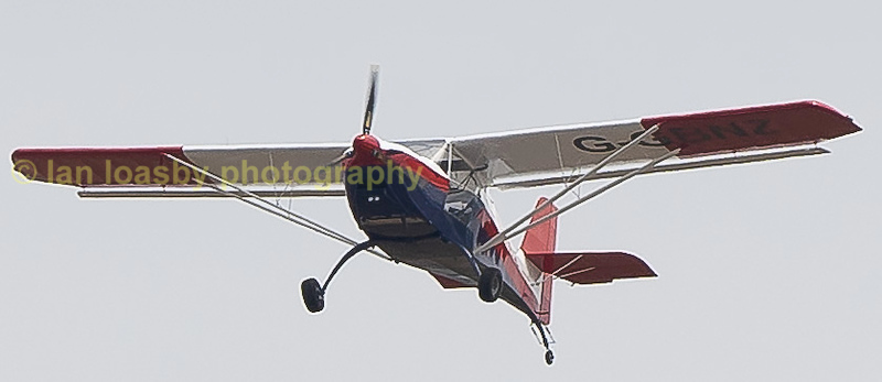 G-GBNZ amateur built Eurofox 912(s) built in 2017 and owned by C F Pote of Bristol