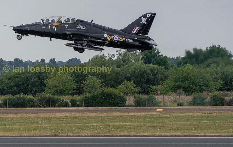 Royal Air Force Hawk T1A trainer  XX203  from 100Sqn RAF Leeming
