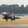 Swedish Gripen serial no 293 takes to the air back home