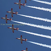 Spains aerobatic  team the 'Patrulla Agulia