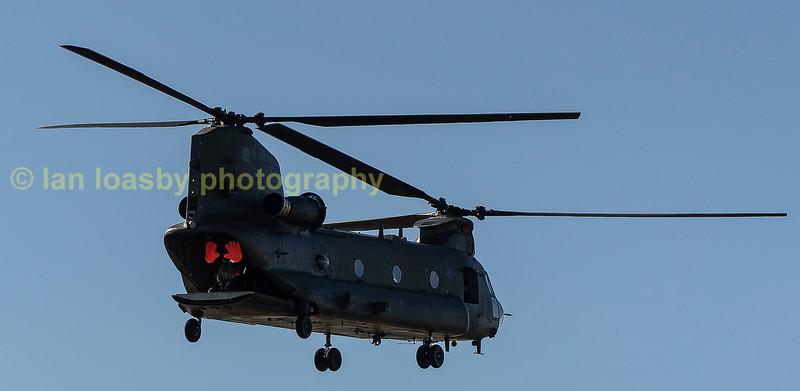 RAF Chinook  ZH 891 of 27 Sqn RAF Odiham