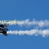 Demonstaration the very slow flypass capability of the F16 is this Belgian AF example