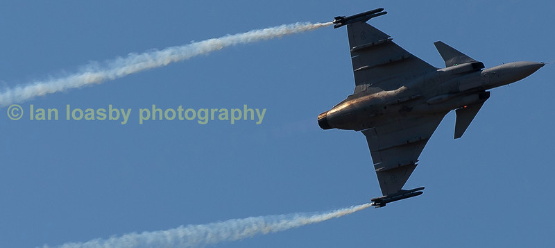 Saab JAS 29C Gripen  of the the Swedish Airforce  Serial no 3978 carries 278