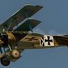 The German Fokker Dr1 triplane.