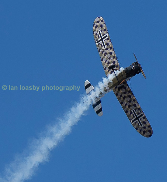 Junker CL1 ground attack aircraft.