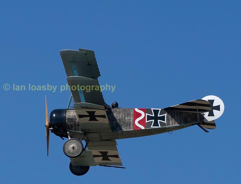Great war Display team   Fokker Dr1 triplane (replica)