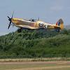 BBMF Spitfire Mk IXe MK356 climbs out