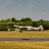 Spitfire PS915 a Mk XIX Unarmed  photo recon version.  These spitfires where stripped  and made very light weight and flew very high and relied on height and speed to keep them safe as they flew photo recom missions over occupied europe during WWII