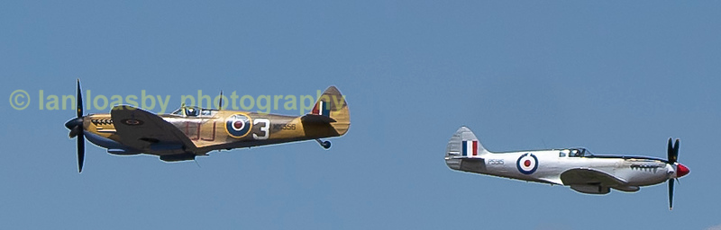 I'm sure these two BBMF pilots had been watching the Red Arrow to much !!
