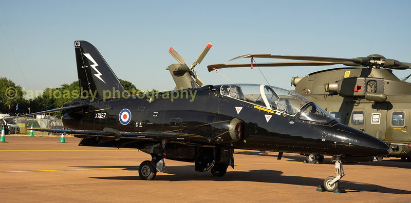 Royal Navy  Hawk trainer XX157 of 736 NAS Couldrose
