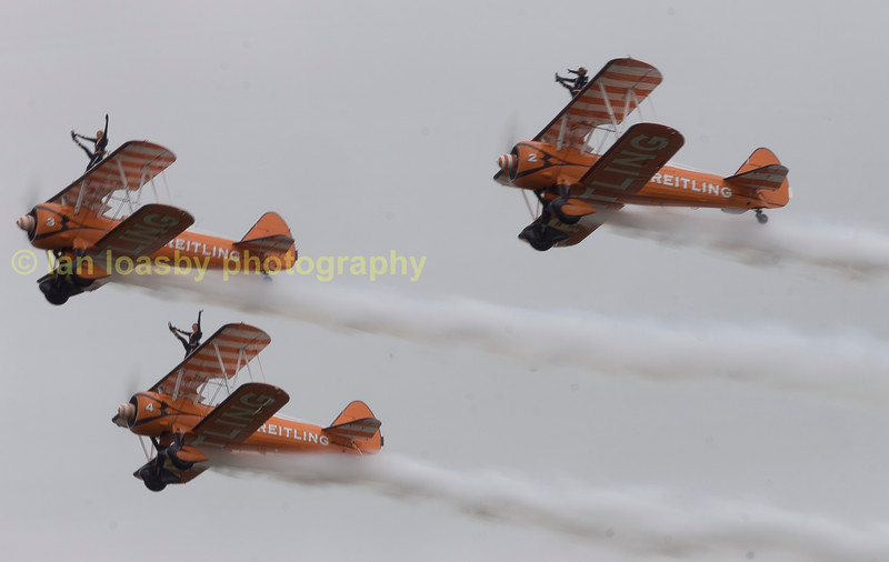The Breitlng Wing walking display team