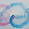 using the sky as a canvas and smoke as the paint  and the aircraft as brushes the red arrows paint the sky red and blue