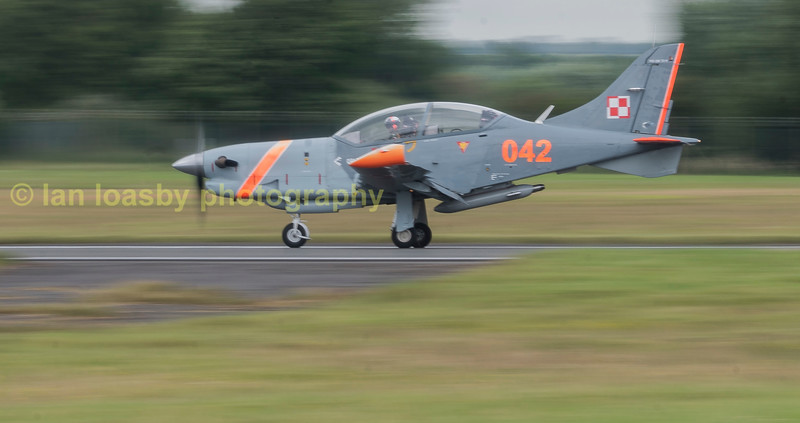Panning with one of the Polish airforce Orliks PZL-130-TC-II