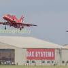 Red Arrows take off