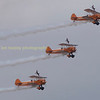 Breitling wing walkers with their Boeing Stermans
